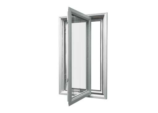 window casement opened