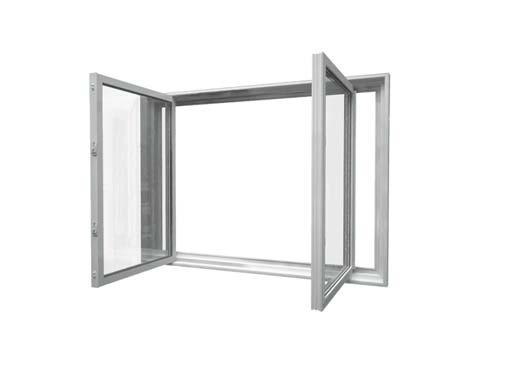 window double slider opened